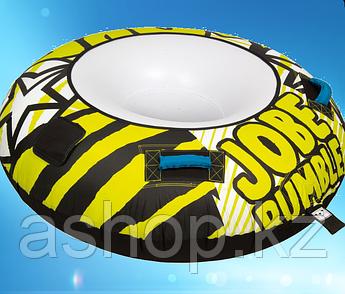 Буксируемый водный аттракцион плюшка Jobe Rumble 1P, Кол-во мест: 1, 2 шт, покрыты неопреном, Безопасность на