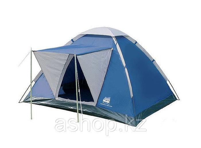 Палатка трекинговая (равнинная) High Peak Beaver 3, Кол-во человек: 3, Входов/комнат: 1/1, Тамбуров: Нет, Внут