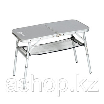 Стол складной Coleman Mini camp, Материал: Алюминий, прочный пластик, 30 кг, Цвет: Серебристый, Упаковка: Розн