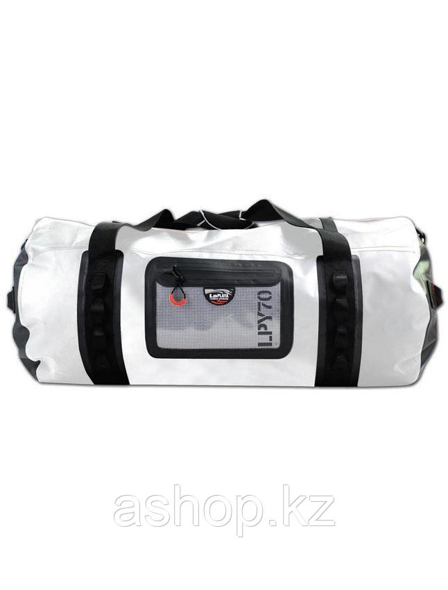 Сумка водонепроницаемая LaPlaya Dry Bag Cylinder, 70 л, Цвет: Чёрно-белый, (800502)