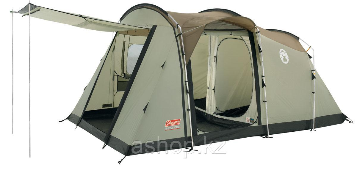 Палатка кемпинговая Coleman MacKenzie Cabin 6, Кол-во человек: 6, Входов/комнат: 2/3, Тамбуров: 1, Внутренняя