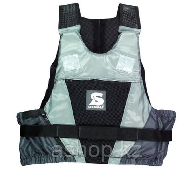 Спасательный жилет Secumar Jump, L, 70-90 кг, Класс: EN393, Плавучесть: 50N, Цвет: Черно-серый, (12244)