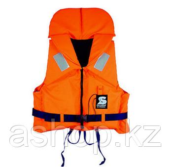 Спасательный жилет Secumar Bravo, 70-80 кг, Класс: EN395, Плавучесть: 100N, Цвет: Оранжево-синий, (11676)