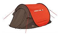 Палатка трекинговая (равнинная) High Peak Vision 2, Кол-во человек: 2, Входов/комнат: 1/1, Тамбуров: Нет, Внут