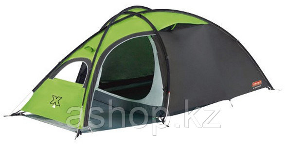 Палатка трекинговая (равнинная) Coleman Phad X2, Кол-во человек: 2, Входов/комнат: 1/1, Тамбуров: 2, Внутрення