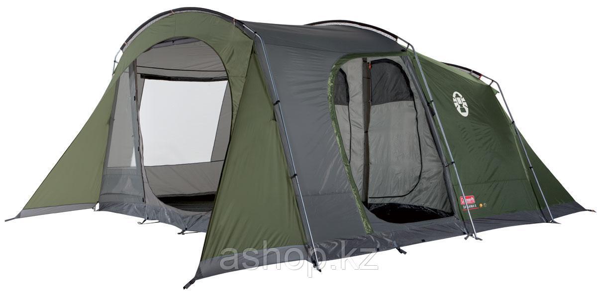 Палатка кемпинговая Coleman Da Gama 6, Кол-во человек: 6, Входов/комнат: 2/2, Тамбуров: 1, Внутренняя палатка: