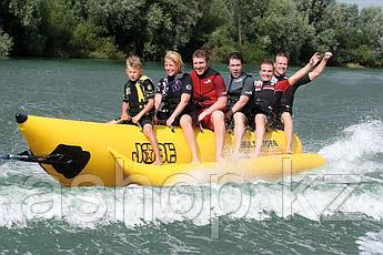 Буксируемый водный аттракцион банан Jobe Multi Rider Long 6P, Кол-во мест: 6, 6, Безопасность на воде: Да, Дре