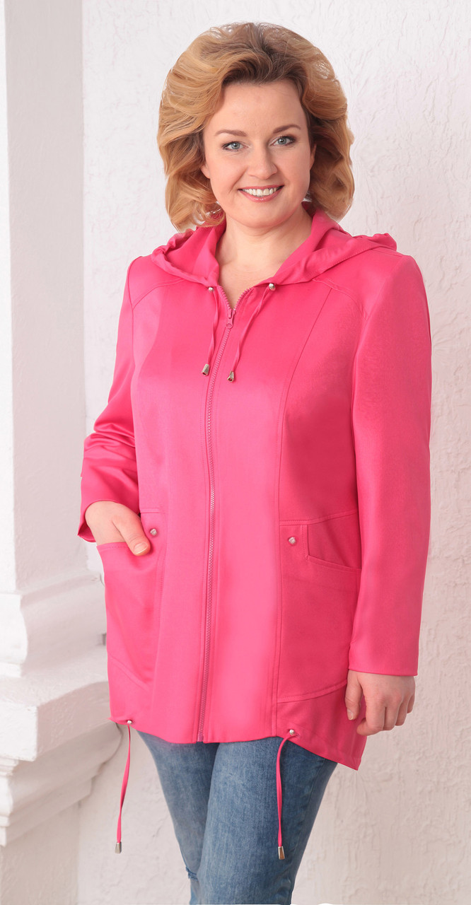Куртка Асолия-3011, розовый, 54
