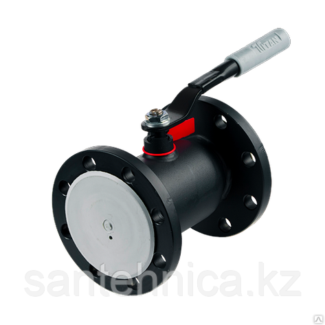 Кран шаровой стальной фланцевый 11с67п Ду 32 Ру40 Forteca, фото 2
