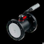 Кран шаровой стальной фланцевый 11с67п Ду 100 Ру16 Forteca