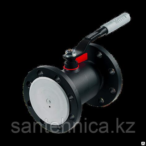 Кран шаровой стальной фланцевый 11с67п Ду 100 Ру16 Forteca, фото 2