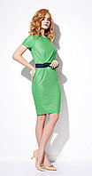 Платье Anna Majewska-1089/2, зеленый, 44