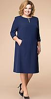 Платье Romanovich-1-1729, темно-синий, 52