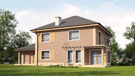 Строительство дома «под ключ» по проекту «Андромеда», фото 2