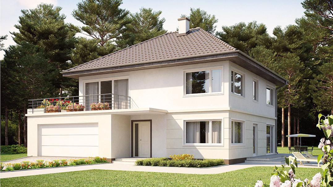 Строительство дома «под ключ» по проекту «Фаэтон»