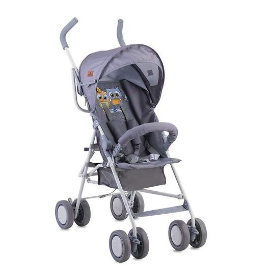 Прогулочная коляска Lorelli Trek Grey Baby Owls 1729