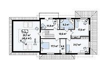 Строительство дома «под ключ» по проекту «Селена», фото 2