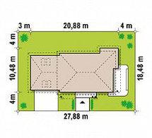 Строительство дома «под ключ» по проекту «Селена», фото 3