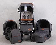 Детская коляска SKILLMAX E50 3в1 Серый