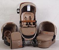 Детская коляска SKILLMAX 3в1 Бежевый