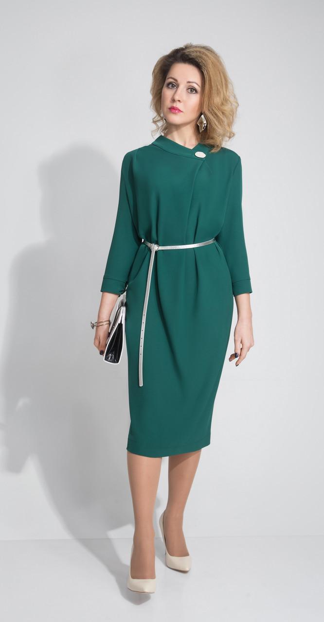 Платье ElPaiz-375, зеленый, 54