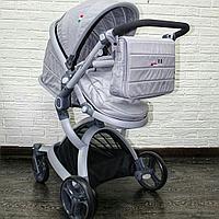 Детская коляска SKILLMAX 2в1 Серый, фото 1