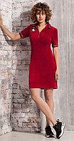 Платье Nova Line-5835, красный, 42
