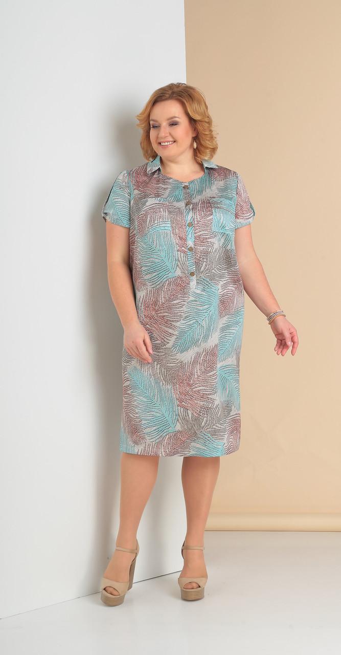 Платье Novella Sharm-3225-с, перья, 62