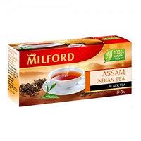 Milford черный чай Ассам, 20 пакетиков