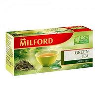 Milford зеленый чай, 20 пакетиков