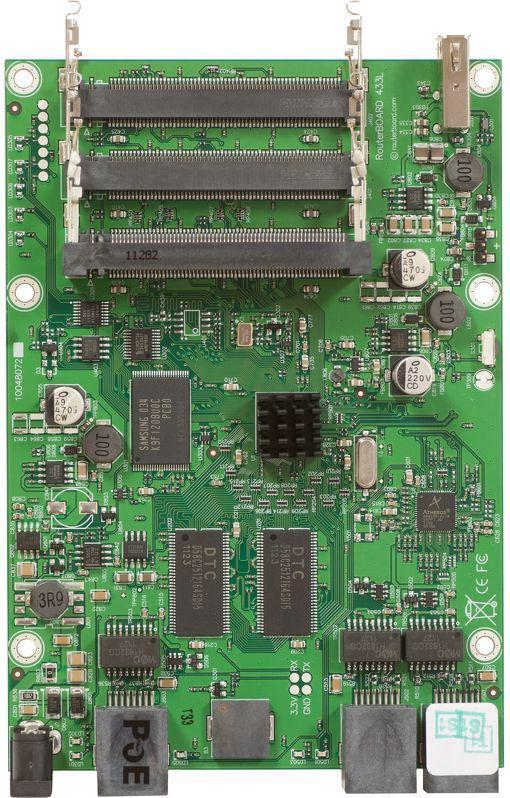 Плата MikroTik RB433UL