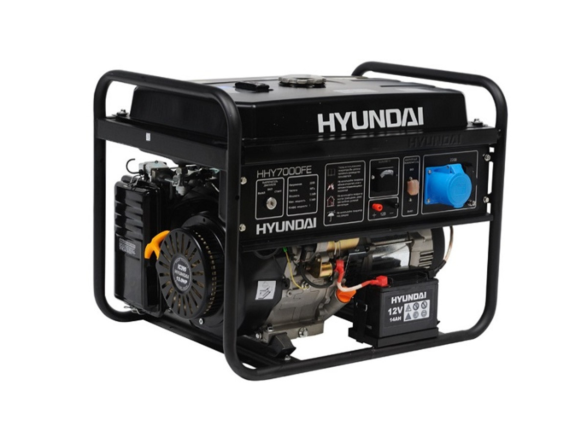 Бензиновая электростанция HHY 7000FE ATS