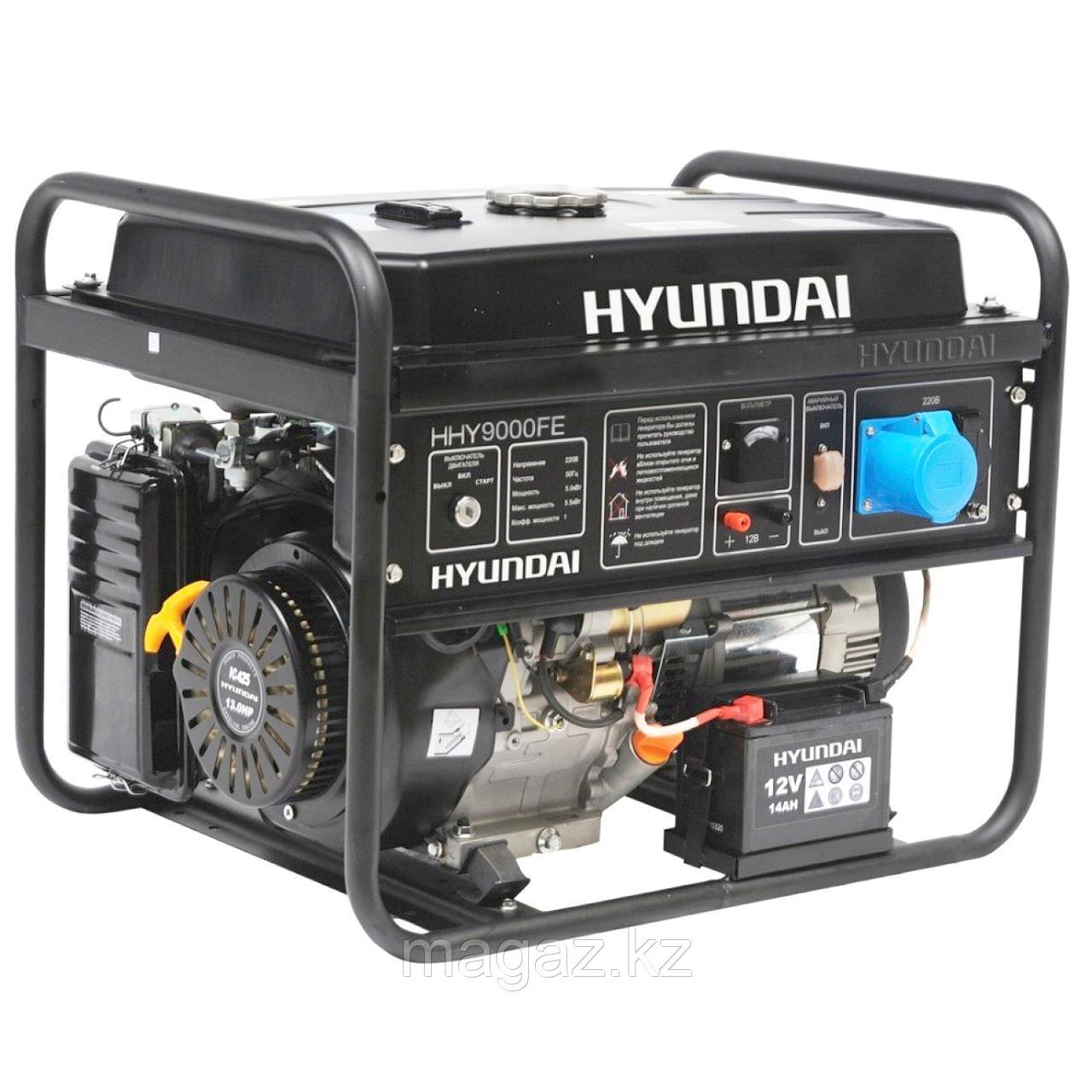 Бензиновая электростанция HHY 9000FE