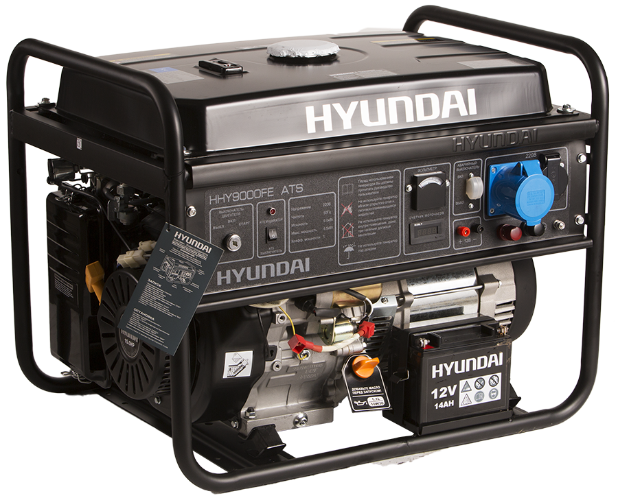 Бензиновая электростанция HHY 9000FE ATS