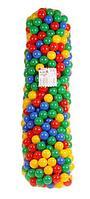 Шарики для сухого бассейна с рисунком, диаметр шара 7,5 см, 500 шт (©Россия)