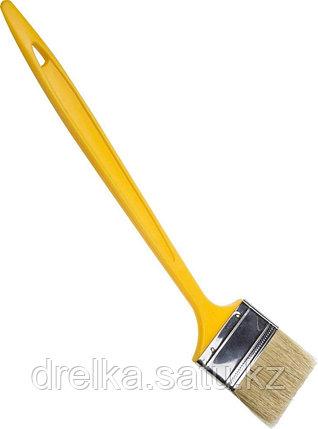 """Кисти радиаторные STAYER """"UNIVERSAL-MASTER"""", светлая натуральная щетина, пластмассовая ручка, фото 2"""
