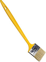 """Кисти радиаторные STAYER """"UNIVERSAL-MASTER"""", светлая натуральная щетина, пластмассовая ручка, фото 3"""