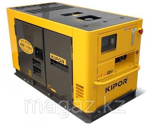 Дизельный генератор KIPOR KDE16STA+KPEC40050DP52A , фото 2