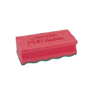 Губка Профи с системой пур актив (Красный) Vileda Professional