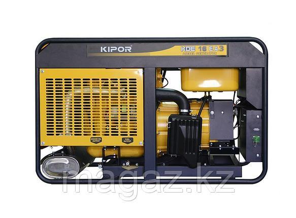 Дизельный генератор KIPOR KDE16EA+KPEC40050DP52A , фото 2