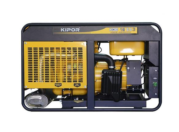 Дизельный генератор KIPOR KDE16EA3 , фото 2
