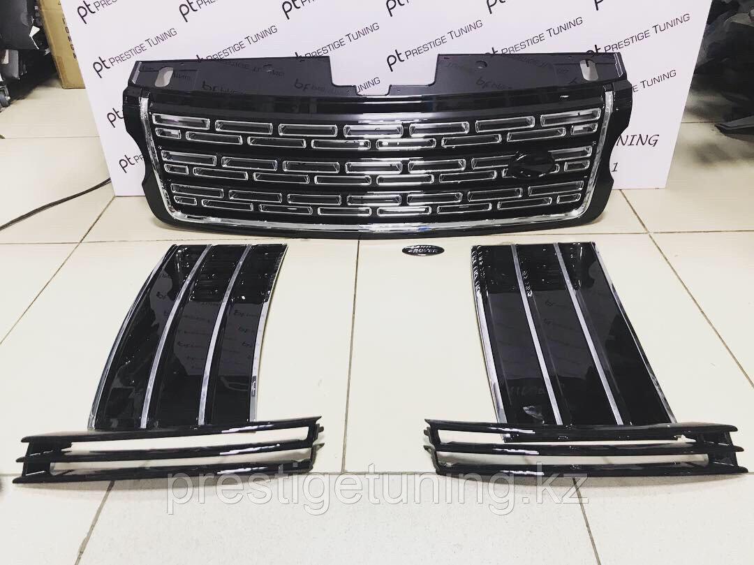 Решетка радиатора на Range Rover Voque Autobiography 2013- Black design