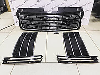 Решетка радиатора на Range Rover Voque Autobiography 2013- Black design, фото 1
