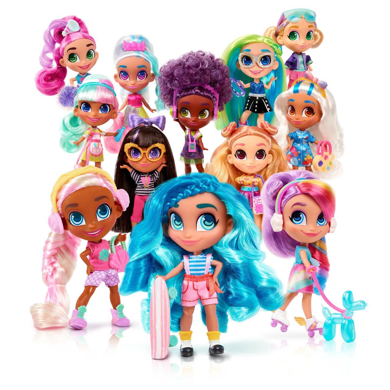 Hairdorables Кукла-сюрприз с аксессуарами, Хэрдораблс (2 серия)