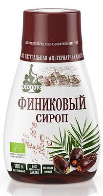 Органический финиковый сироп Bionova 230 г