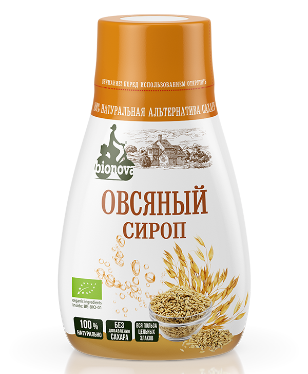 Органический овсяный сироп Bionova® 230 г