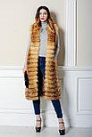 Стильный меховой жилет из лисы для девушек Казахстана, фото 3