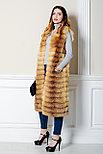 Стильный меховой жилет из лисы для девушек Казахстана, фото 2