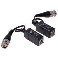 MSB-HD06 Пассивный усилитель видеосигнала для AHD/TVI/CVI HD + Питания 12В