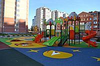 Тартановое покрытие для спортивных и детских площадок